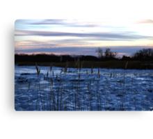 Buckhorn Pond Before Dawn Canvas Print