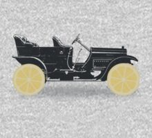 Oldtimer / Historic Car with lemon wheels One Piece - Long Sleeve
