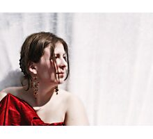 NEOCLASSICAL LADY - PROFILE Photographic Print
