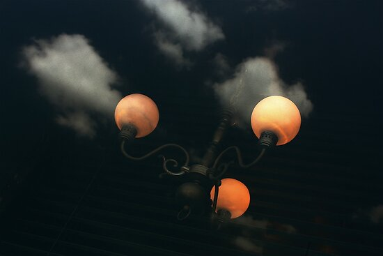 3 Moons, 3 Clouds, for You, as my 6 Sweetest Thoughts by Clo Sed