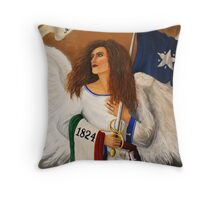"""""""For Valor Past, Valor Comes"""" Throw Pillow"""