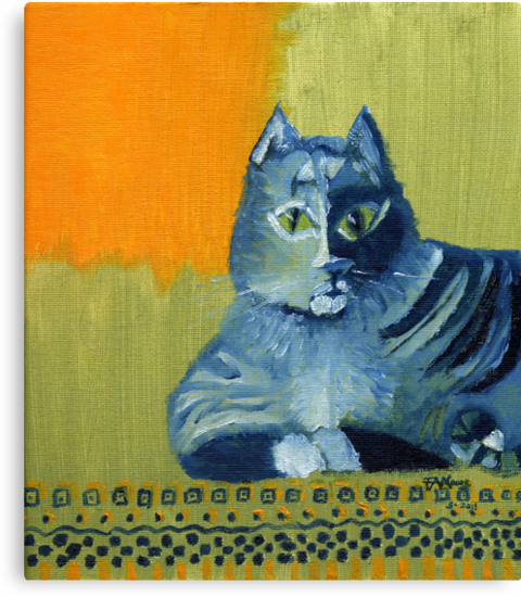 Tabby Owns Persian by F.A. Moore