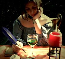 ABSINTHE - THE GREEN FAIRY WITH NO INSPIRATION by Alessia Ghisi Migliari