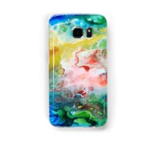 Unique colorful galaxy abstract art Samsung Galaxy Case/Skin