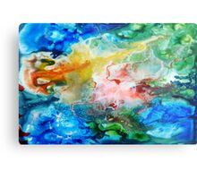 Unique colorful galaxy abstract art Metal Print