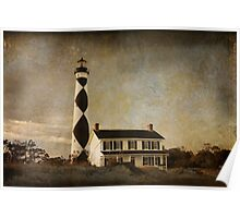 Cape Lookout in North Carolina Poster
