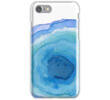 Blue Agate Stone iPhone Case/Skin
