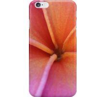 Red Plumeria iPhone Case/Skin