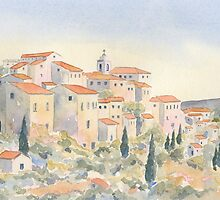 View of Gordes, Provence, France by ian osborne