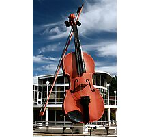 The Big Fiddle Photographic Print