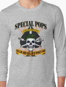 #1 DAD SPECIAL POPS Long Sleeve T-Shirt