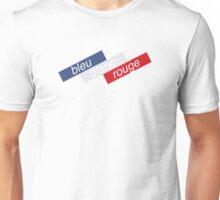 Bleu Blanc Rouge Unisex T-Shirt