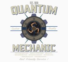 QUANTUM MECHANICS One Piece - Short Sleeve