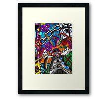 """""""Legal Pad Doodles #2"""" Framed Print"""