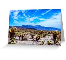 CHOLLAS Greeting Card
