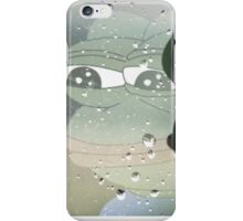 Sad pepe iPhone Case/Skin
