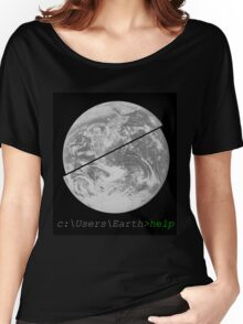Help Earth Women's Relaxed Fit T-Shirt
