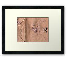 """""""Pint Of Barton's"""" Framed Print"""