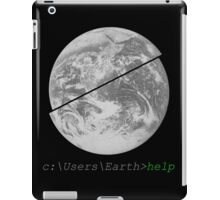 Help Earth iPad Case/Skin