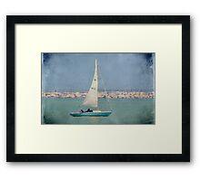 Leisure sailing ©  Framed Print