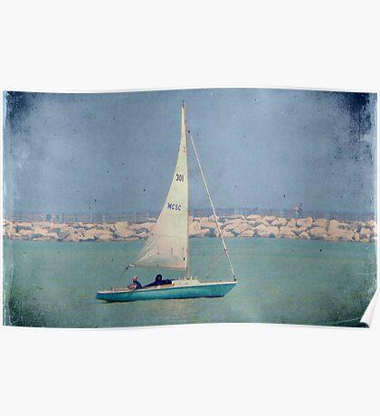 Leisure sailing ©  Poster