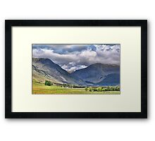 Glen Doll Framed Print