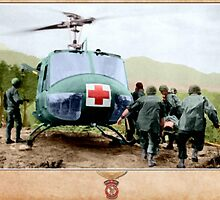 Bell UH-1 Huey (326th Med Btn) by A. Hermann