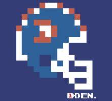 Tecmo Bowl - Denver Broncos - 8-bit - Mini Helmet shirt by QB Bills