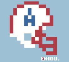 Tecmo Bowl - Houston Oilers - 8-bit - Mini Helmet shirt by QB Bills