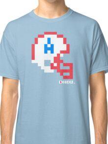 Tecmo Bowl - Houston - 8-bit - Mini Helmet shirt Classic T-Shirt