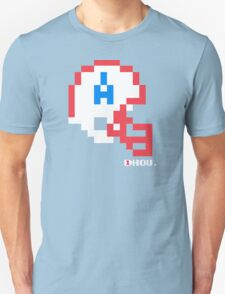 Tecmo Bowl - Houston - 8-bit - Mini Helmet shirt Unisex T-Shirt