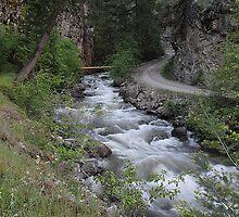 Texas Creek - Lillooet BC Canada by KansasA