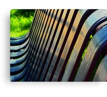 Bench Abstract Canvas Print
