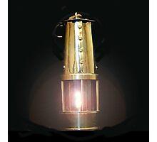Davy Lamp Photographic Print