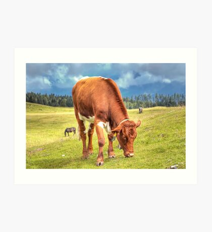 Austrian Country Life Art Print
