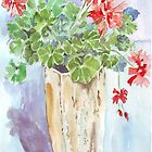 Flowers in pots - by Maree Clarkson by Maree Clarkson
