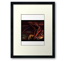 Yu-Gi-Oh - Yugi x Slyfer Framed Print
