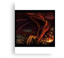 Yu-Gi-Oh - Yugi x Slyfer Canvas Print