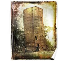The Remnants of the Teets Silo Poster