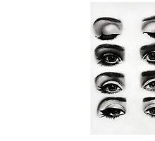 Lana del rey eyes by lunaperriART