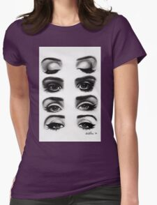 Lana del rey eyes Womens Fitted T-Shirt