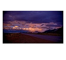 After the storm, Steptoe Valley, White Pine County NV Photographic Print