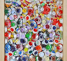 Empty Paint Tubes. by nawroski .