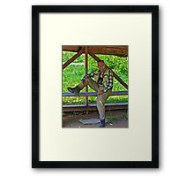 Hey you buddy !!!!   Moovie Star  from Holywood  by Brown Sugar. Views (252) thanks ! Framed Print