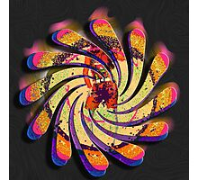 Swirly Go Go Photographic Print