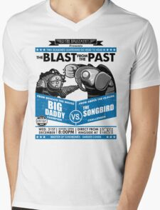 The Blast from the Past - Big Daddy vs Songbird Mens V-Neck T-Shirt