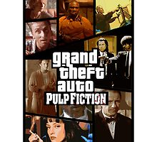 Grand Theft Fiction by AlcatrazGraphic