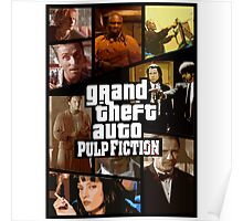 Grand Theft Fiction Poster