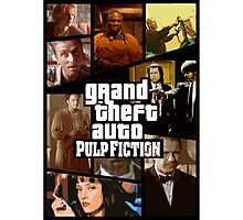 Grand Theft Fiction Photographic Print
