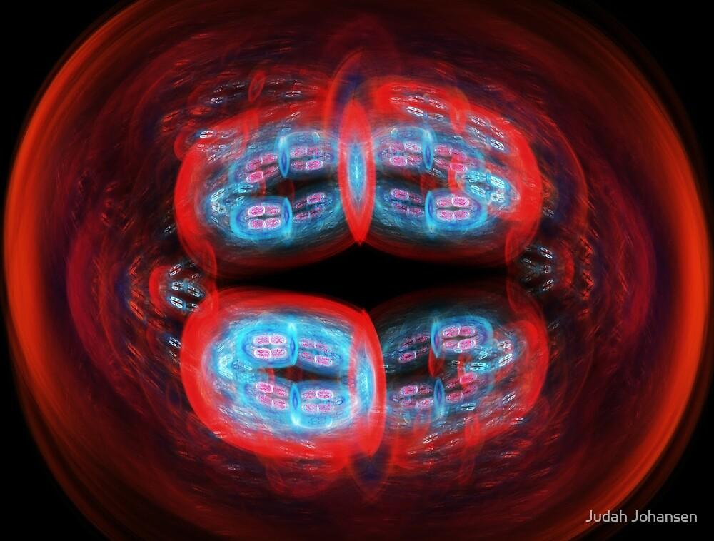 Quanta Cell 2- Neon Fusing by Judah Johansen